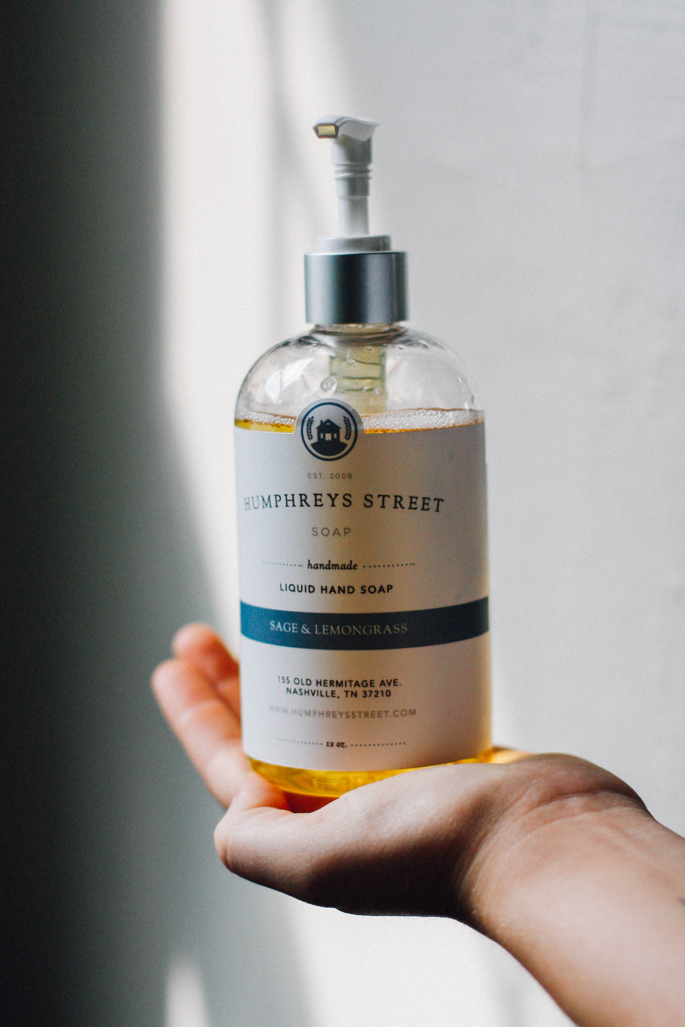 humphreys street natural liquid hand soap