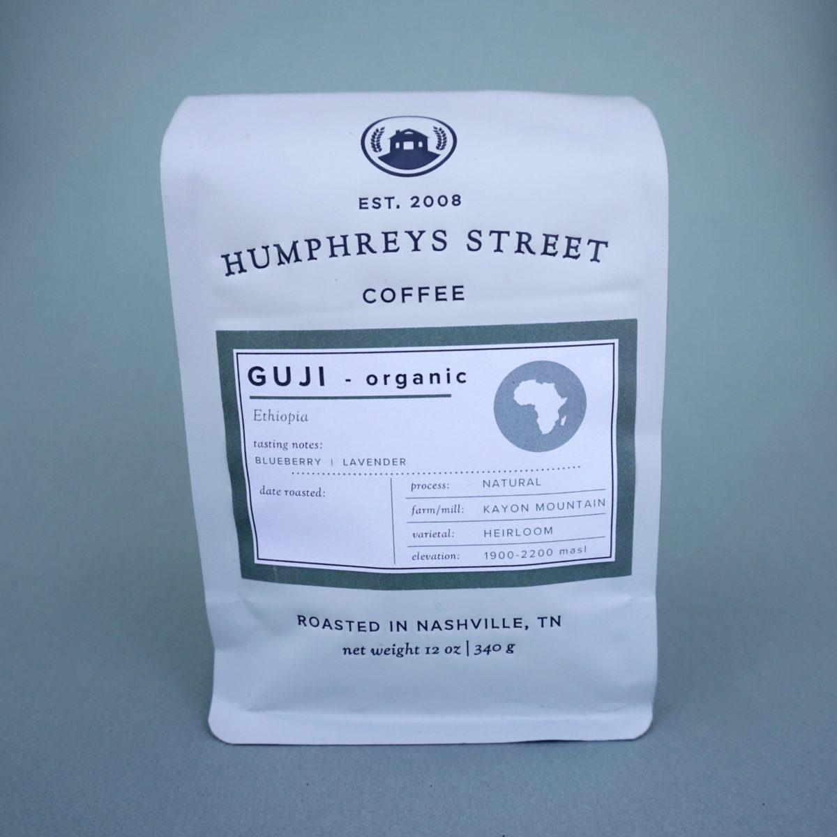 humphreys street ethiopia guji coffee