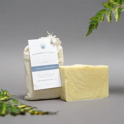 sage lemongrass bar soap