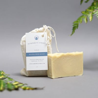 wildflower honey handmade soap