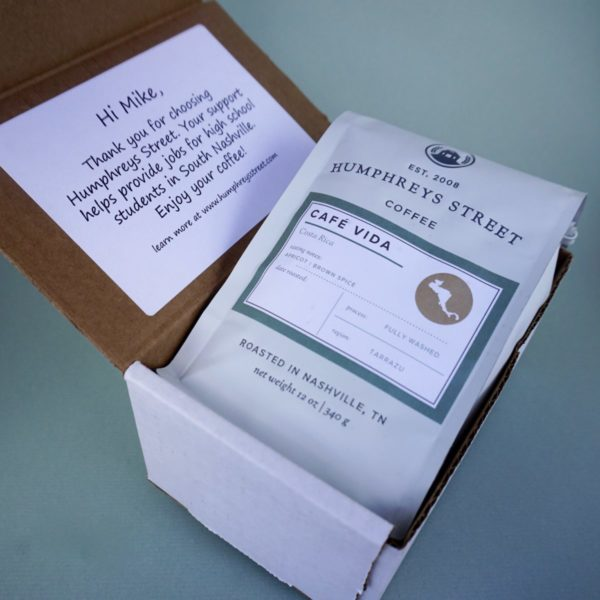 coffee subscription humphreys street nashville
