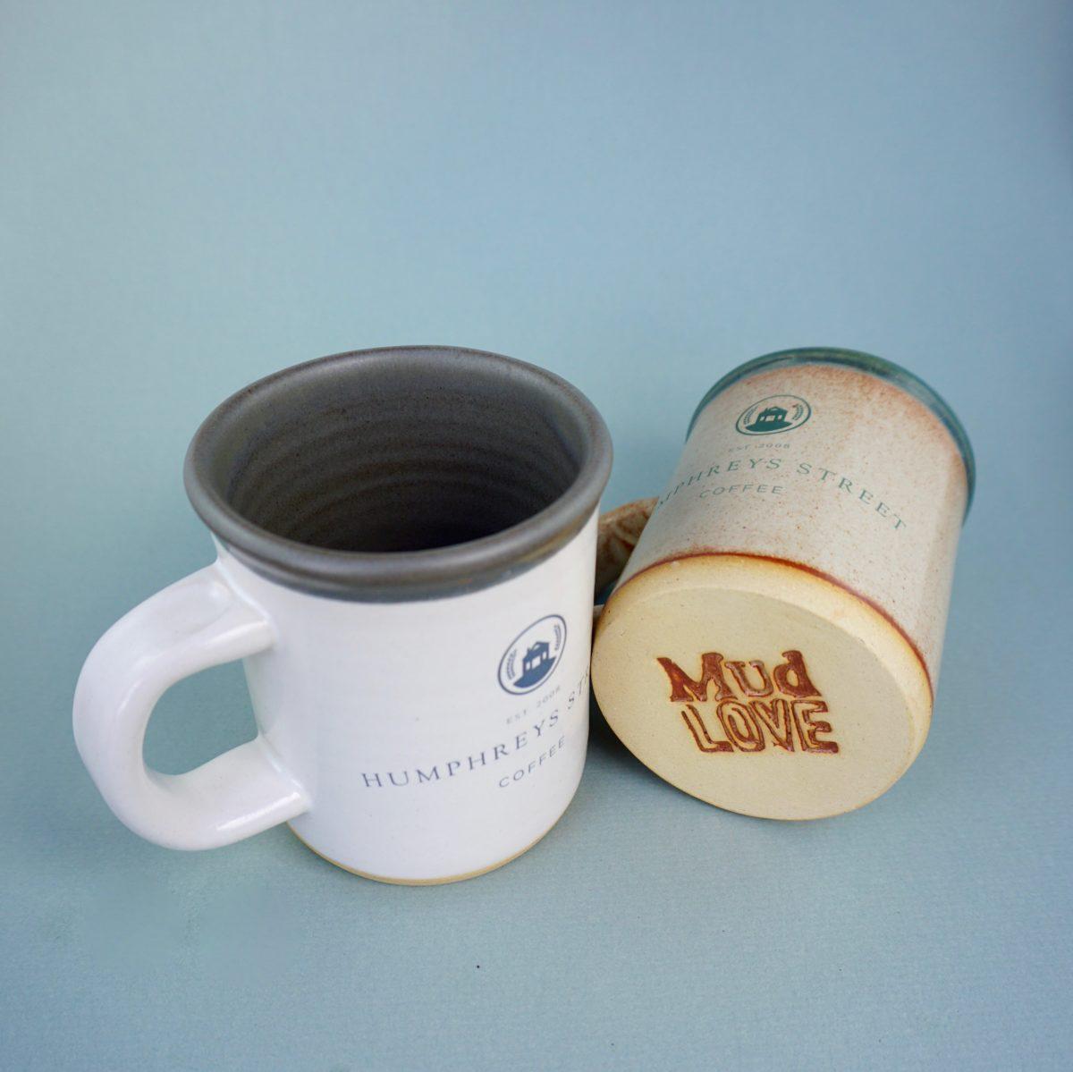 Humphreys Street mugs mud love