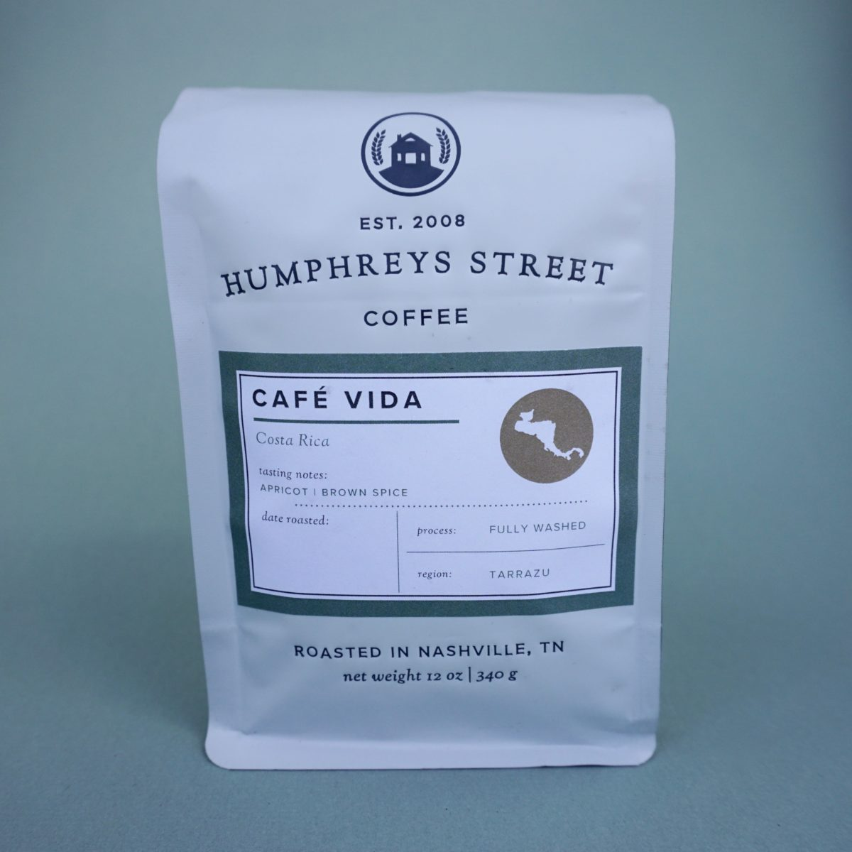 humphreys street coffee cafe vida costa rica