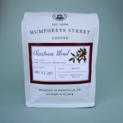 christmas blend humphreys street coffee