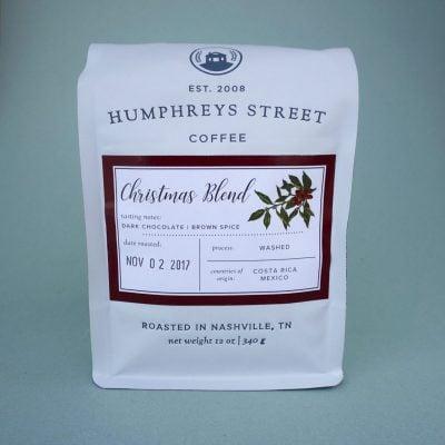 christmas blend humphreys street coffee
