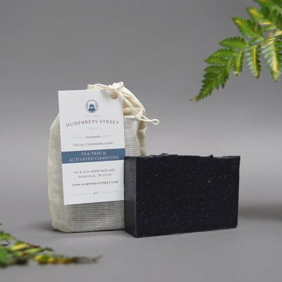 Tea Tree & Activated Charcoal Facial Soap