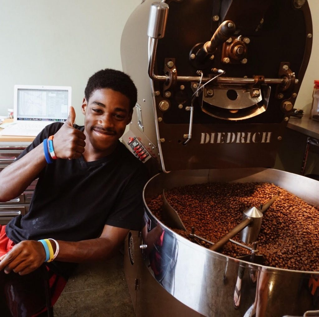 Kevonte - Coffee Roaster at Humphreys Street